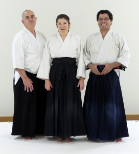 Youth Instructors, l to r: Pete D, Vickie S, Robert G