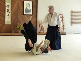 Konigsberg Sensei with uke John