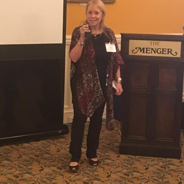 amarillocolleges Pam George chair of the Professional Development Committee introduceshellip