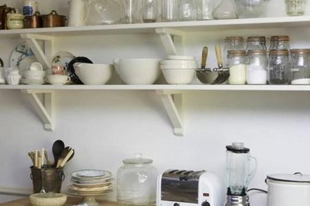 kitchen trend, open shelving