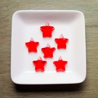 Whipped Strawberry Jello Jiggler Shots