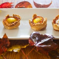 Bacon & Egg in Toast Cups