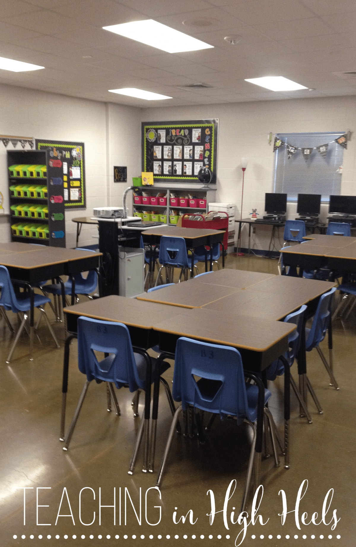Horseshoe Classroom Design ~ Tips to setting a welcoming learning environment