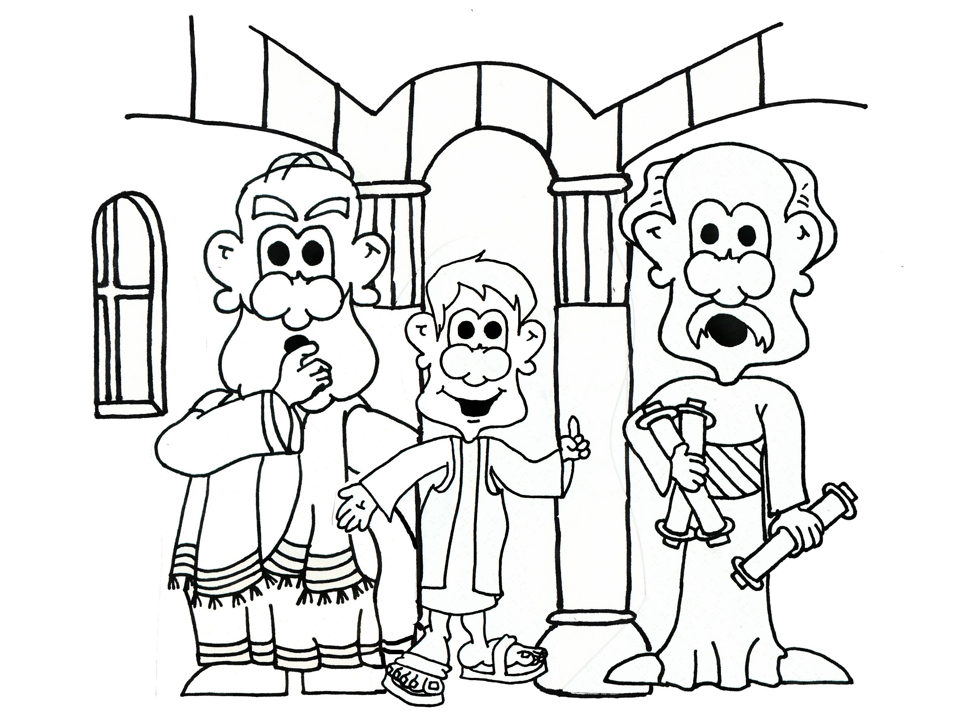 Lesson 5 jesus christ is the son of heavenly father for Jesus teaching in the temple coloring page