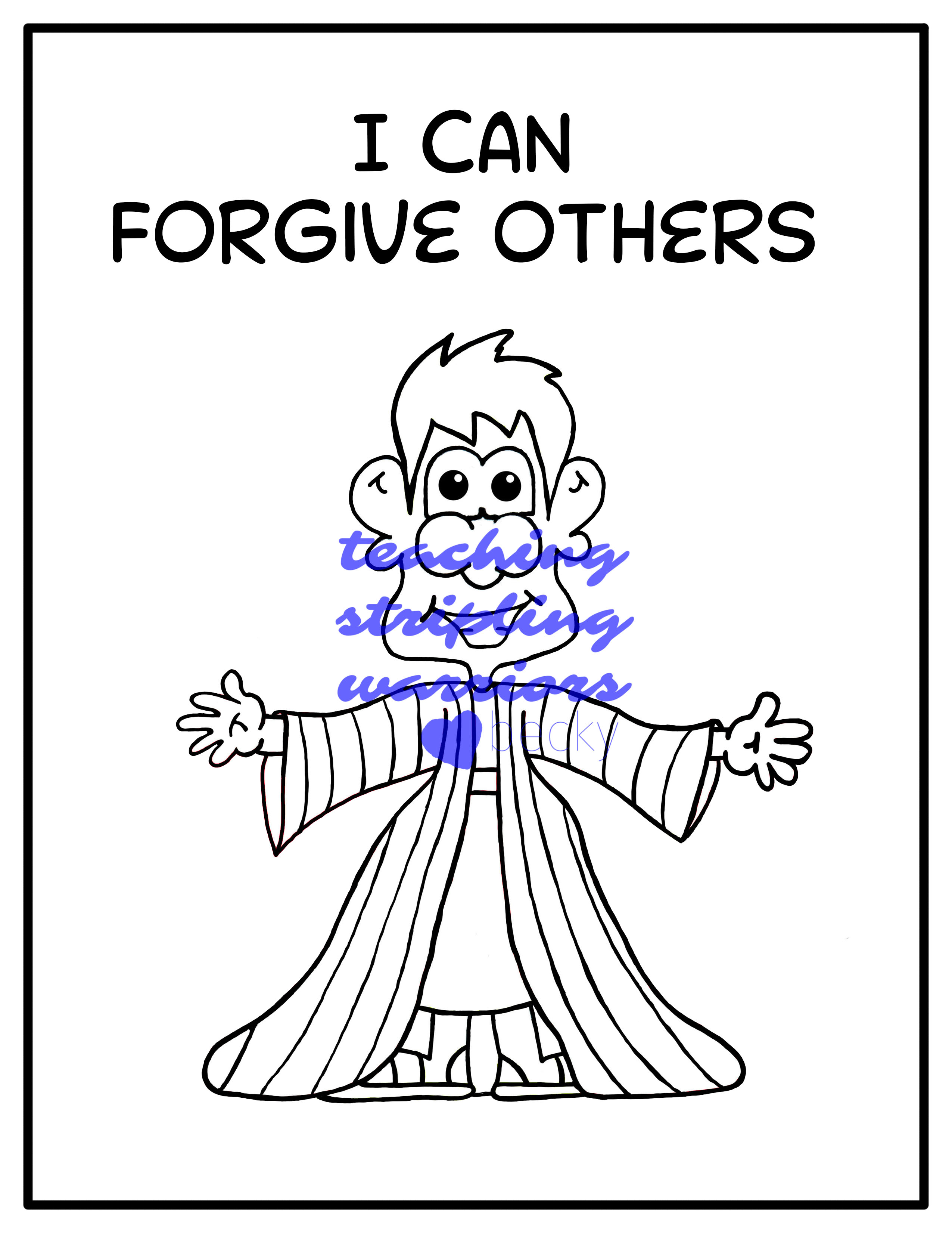 Lesson 30: I Can Forgive Others