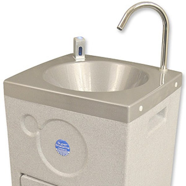 Super Stallette hot water hand washing station ideal for food and medical and health sectors