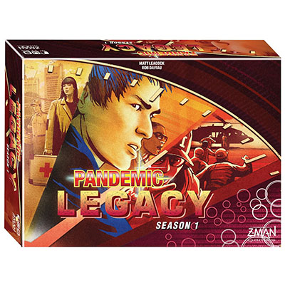 Pandemic Legacy (Red)- Cover