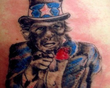Awful Uncle Sam Tattoo Photo fail! the worst tattoos ever