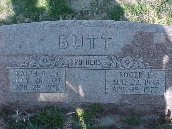 """""""Butt"""