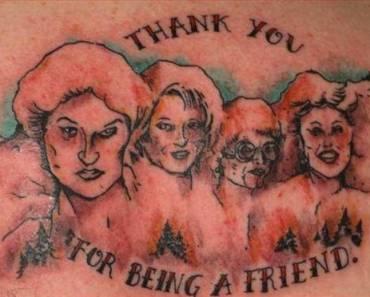More bad Golden Girls tattoos from TeamJimmyJoe.com