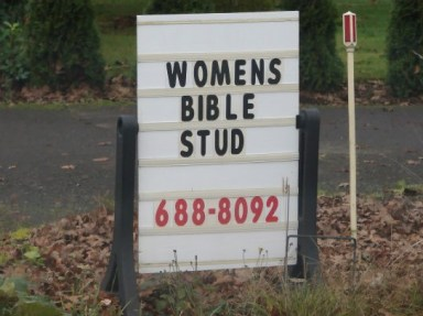 Women's bible study - Funny church signs, funny names, worst family photos, awkward family stupid people sexual innuendos worst church signs