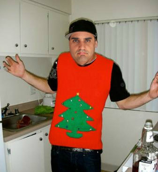 Funny Pictures of Juan Pablo Montoya Ugly Christmas Sweaters Funny NASCAR Tacky Christmas NASCAR Driver Pictures Photos Pics