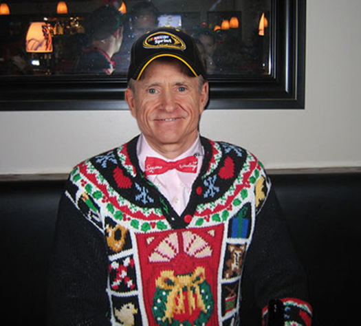 Funny Pictures of Mark Martin Ugly Christmas Sweaters Funny NASCAR Tacky Christmas NASCAR Driver Pictures Photos Pics
