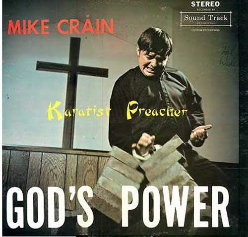 Karate Preacher, God's Power, Worst Album Covers, I mean really bad album covers. Horrible album covers funny album covers classic vinyl lps funny pictures, funny album covers, strange album covers, bizarre rock albums gospel country albums, disco albums rap albums