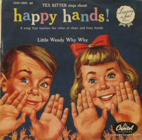 Happy Hands, Tex Ritter, Worst Album Covers, I mean really bad album covers. Horrible album covers funny album covers classic vinyl lps funny pictures, funny album covers, strange album covers, bizarre rock albums gospel country albums, disco albums rap albums