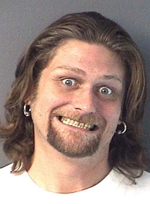 Funny celebrity mugshots photos