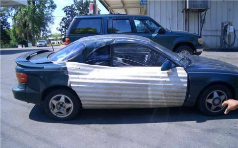 The Best Bad Redneck Vehicles, redneck cars funny vehicles there I fixed it awkward family photos ellen bad family photos wors bad tattoos worst cars redneck trucks redneck men redneck tractors redneck boats car door