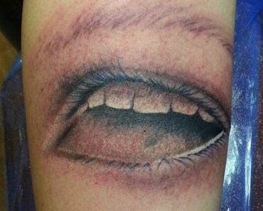 mouth eye tattoo bad tattoos terrible awful ugliest tattoos wtf tattoos, horrible tattoos funny tattoos awkward family worst tattoos photos crazy people weird people stupid humor redneck humor photobombs