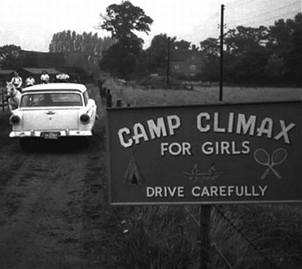 Camp Climax for Girls Funny Signs Funny Names Town Names Street Signs Lost in Translation Bad English Sexual Innuendos Worst Bad Tattoos Crazy Strange