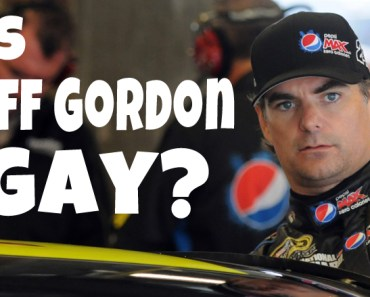 NASCAR: Is Jeff Gordon Gay - Exclusive Video - The Facts May Surprise You