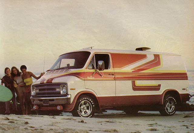 Rock N Roll On Wheels The 1970 S Custom Van Craze Team