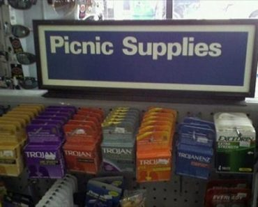 You Had One Job Fails ~ picnic supplies condoms