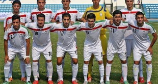 Iran u19 in mashad 2015