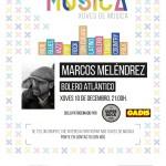 Marcos Meléndrez Bolero Atlántico - Xoves 10 de decembro