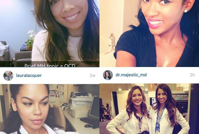 "In honor of the first National Women Physician Day, I wanted to highlight four very special female doctors I've ""met"" on social media whom I admire and have learned so much from. @freudandfashion is so open and honest about her own experience with her field (psychiatry), making her that much more relatable to patients. I love keeping up with her too, which are so educational regarding psych issues which can be so highly stigmatized in our society today. She makes me want to do more internal reflection and focus on my wellness in the crazy time of residency! @elyse.love is knee deep in intern year but still made time to start a blog that gives excellent and pertinent career advice for young professionals, not just in medicine but beyond. Her recent post on choosing dermatology was spot on and she discusses ALL the important factors that go into choosing your career, even the ones people don't usually want to talk about. Cannot wait for her to join me @nyulangone next year. @lauralacquer showed me that physicians can have SUCH a powerful unique and amazing voice in social media, and that you can do it all while having two cute babies too! She is truly a superwoman and such an inspiration to us all. Hope our paths cross in #derm someday!  Last but not least, the beautiful @dr.majestic_md educates all of us through informative and relevant Instagram photos and posts. She's pushing the envelope of being a #physician educator and reaching hundreds of people beyond her ER patients through her online presence. • Thank you ladies for continuing to inspire me and others continuing along the path to medicine. You are all rock stars  #nwpd #iamblackwell #womeninmedicine #leanin #medicine #doctors"