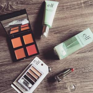 Received my monthly shipment of elfcosmetics products to play withhellip