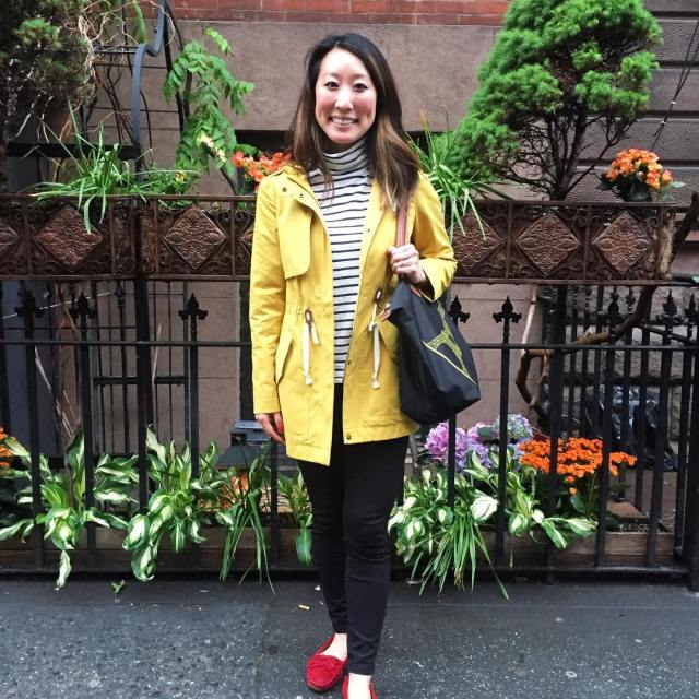 Sometimes you need a bright yellow coat to brighten uphellip
