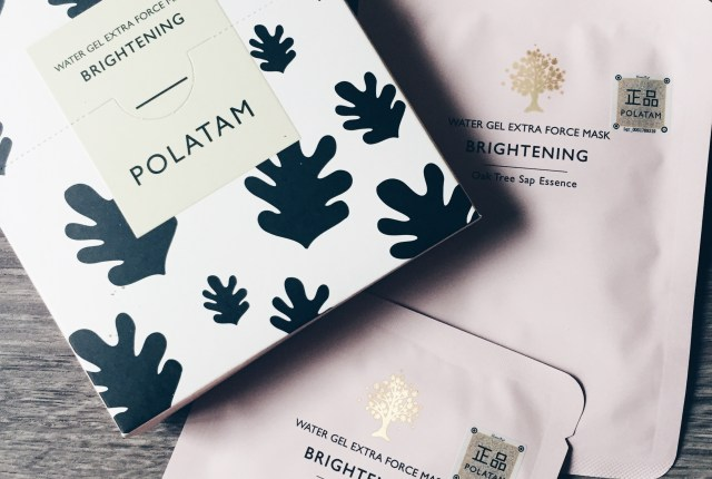Polatam brightening sheet mask