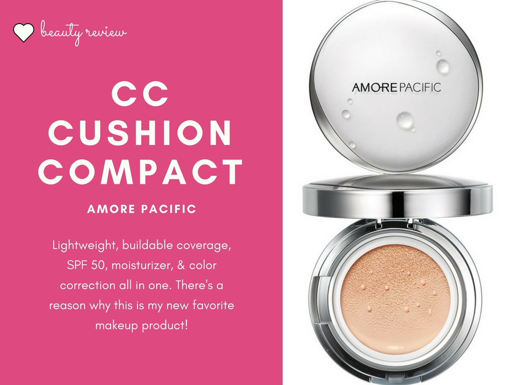 Amore Pacific CC Cushion Compact Review - Tea with MD - your guide ...