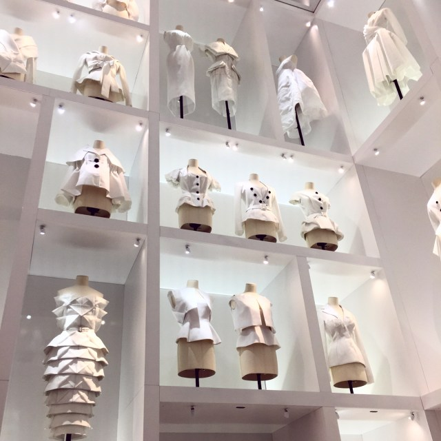Floor to ceiling dior in a jaw dropping exhibition celebratinghellip