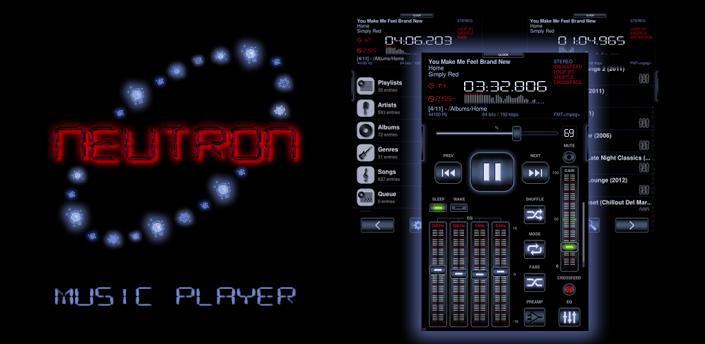 neutron best music player app