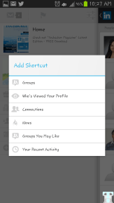 Linkedin Shortcuts