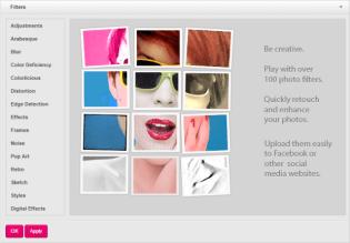 Picozu Image Editor - Filters