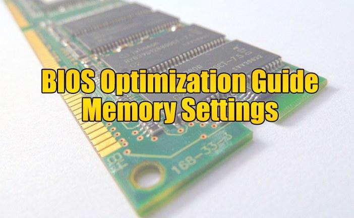 Chipkill – The BIOS Optimization Guide