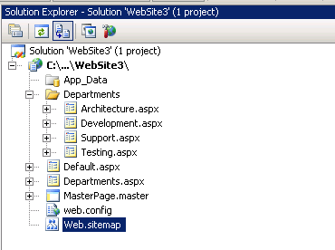 Using the ASP.NET SiteMapPath Control | TechBubbles