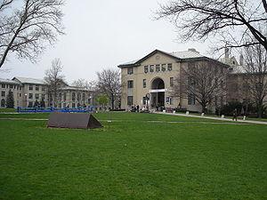 Carnegie Mellon University Doherty Hall, Fence...