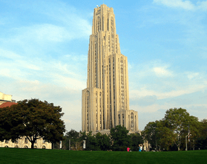 The Cathedral of Learning at the University of...