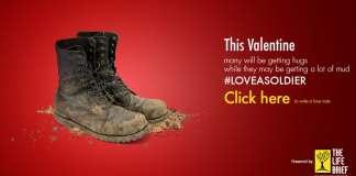 Love a soldier
