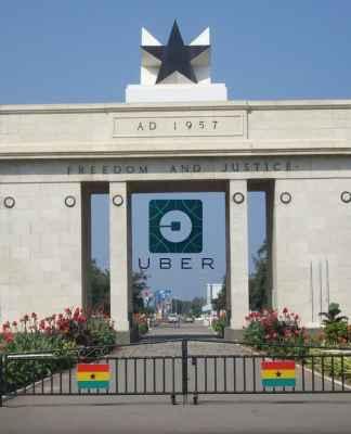 Uber, Ghana, Accra,