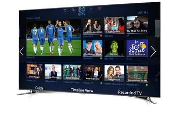 Samsung Smart TV F800 hub.jpg