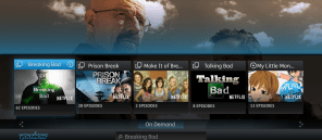 Netflix on YouView_search screen