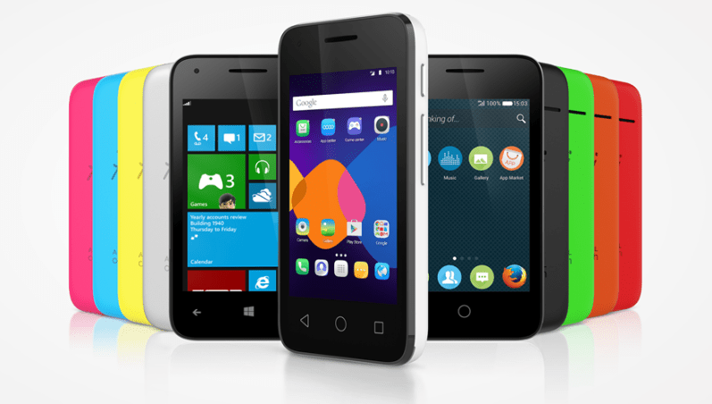 ALCATEL ONETOUCH launches entry level PIXI 3 (3.5) in the UK