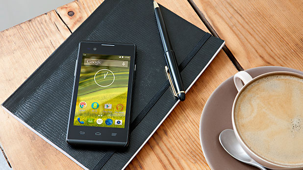 EE unveils the first sub-£50 smart phone, the Rook. That's over 10 times cheaper than an iPhone 6