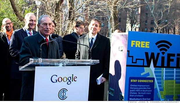 free wifi in NewYork