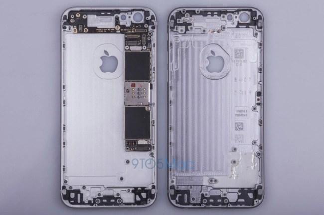 iPhone 6S metal housing inside look