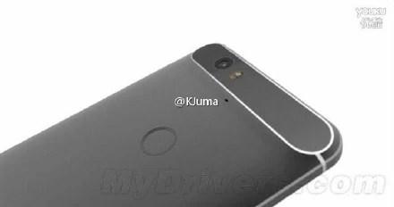 Huawei Nexus 6 Back Copy from ZTE